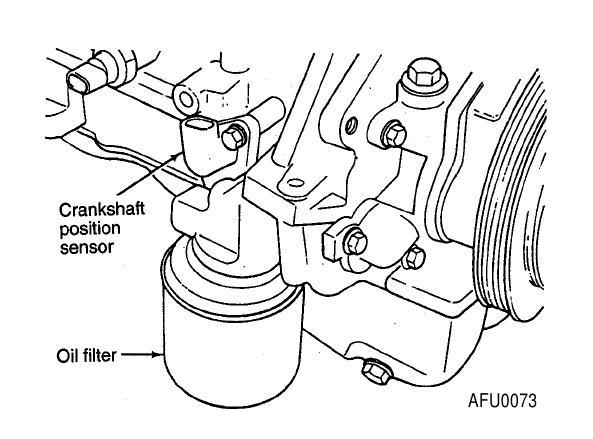 How To Repair Crank Position Sensor